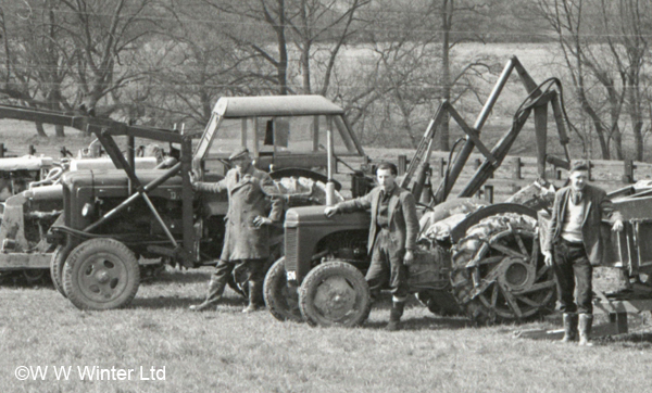 Archive image of vehicles from W W Winter
